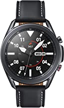 Amazon offers on Mobiles - Samsung Galaxy Watch 3 45mm Bluetooth (Mystic Black),SM-R840NZKAINS