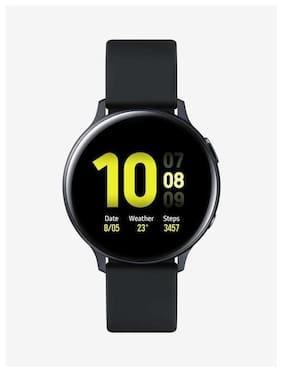 Paytmmall offers on Mobiles - Samsung Galaxy Watch Active2 Aluminium SM-R820NZKAINU Smart Watch