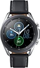 Amazon offers on Mobiles - Samsung Galaxy Watch 3 45mm Bluetooth (Mystic Silver),SM-R840NZSAINS