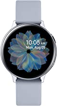 Amazon offers on Mobiles - Samsung Galaxy Watch Active 2 (Bluetooth, 44 mm) - Silver, Aluminium Dial, Silicon Straps