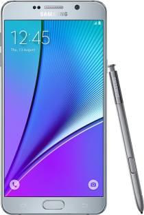 Flipkart offers on Mobiles - Samsung Galaxy Note 5 (Silver, 32 GB) 4 GB RAM