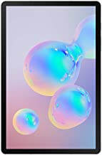 Amazon offers on Mobiles - Samsung Galaxy Tab S6 (10.5-inch, 128GB, WiFi + 4G LTE + Voice Calling), Gray
