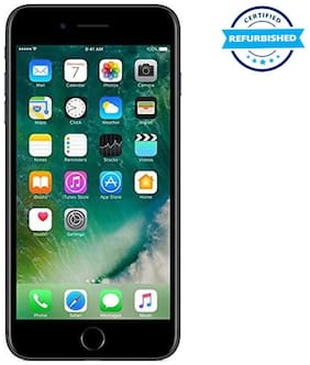 Paytmmall offers on Mobiles - Refurbished Apple iPhone 7 plus 3 GB 128 GB Black (Grade: Excellent)
