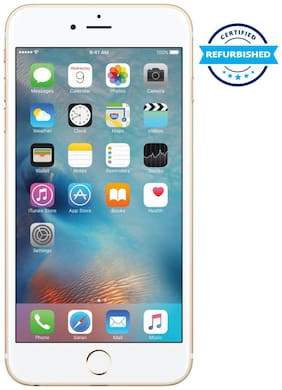 Paytmmall offers on Mobiles - Refurbished Apple iPhone 6 Plus 2 GB 128 GB Gold (Grade: Good)