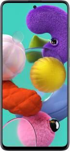 Flipkart offers on Mobiles - Samsung Galaxy A51 (Prism Crush White, 128 GB) 8 GB RAM