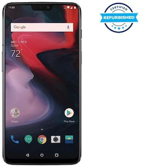 Paytmmall offers on Mobiles - Oneplus 6 8 GB 128 GB Mirror Black (Refurbished : Good)