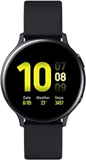 Amazon offers on Mobiles - Samsung Galaxy Watch Active 2 (Bluetooth + LTE, 44 mm) - Black, Aluminium Dial, Silicon Straps
