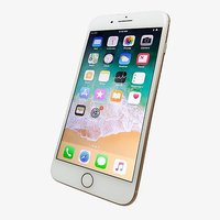 Shopclues offers on Mobiles - Apple Iphone 8 Plus 64Gb 3Gb Ram Gold Refurbished Mobile With 6 Months Seller Warranty
