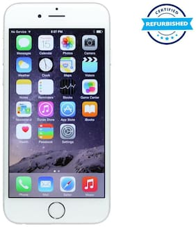 Paytmmall offers on Mobiles - Refurbished Apple iPhone 6 16 GB Silver (Grade: Good)