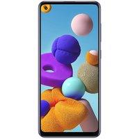 Shopclues offers on Mobiles - Samsung Galaxy A21s 4GB RAM 64GB ROM Blue Open Box