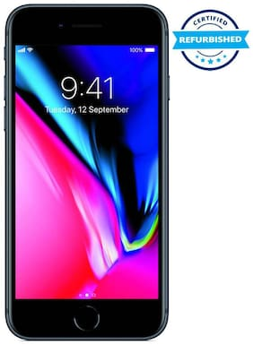 Paytmmall offers on Mobiles - Refurbished Apple iPhone 8 2 GB 64 GB Space Grey (Grade: Excellent)