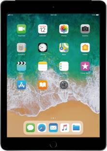 Flipkart offers on Mobiles - Apple iPad (6th Gen) 32 GB ROM 9.7 inch with Wi-Fi+4G (Space Grey)