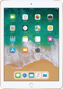 Flipkart offers on Mobiles - Apple iPad (6th Gen) 128 GB ROM 9.7 inch with Wi-Fi+4G (Gold)