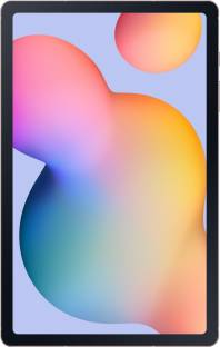 Flipkart offers on Mobiles - Samsung Galaxy Tab S6 Lite 4 GB RAM 64 GB ROM 10.4 inch with Wi-Fi+4G Tablet (Chiffon Pink)