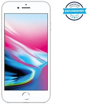 Paytmmall offers on Mobiles - Refurbished Apple iPhone 8 64GB Silver (Grade: Excellent)