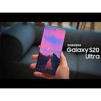 Shopclues offers on Mobiles - Samsung Galaxy S20 Ultra RAM 12GB Internal storage 128GB Cosmic Black Smartphon