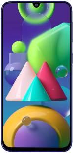 Flipkart offers on Mobiles - Samsung Galaxy M21 (Midnight Blue, 128 GB) 6 GB RAM