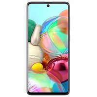 Shopclues offers on Mobiles - Samsung Galaxy A71 (Prism Crush Silver 8GB RAM 128GB Storage)
