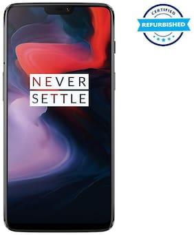 Paytmmall offers on Mobiles - Refurbished OnePlus 6 6 GB 64 GB Mirror Black (Grade: Good)