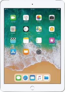 Flipkart offers on Mobiles - APPLE iPad (6th Gen) 32 GB ROM 9.7 inch with Wi-Fi+4G (Silver)