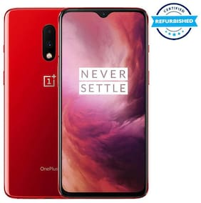 Paytmmall offers on Mobiles - Refurbished OnePlus 7 8 GB 256 GB Red (Grade: Excellent)