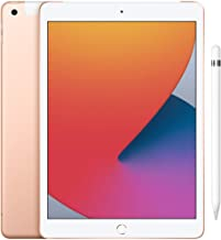 Amazon offers on Mobiles - New Apple iPad (10.2-inch, Wi-Fi + Cellular, 128GB) - Silver (Latest Model, 8th Generation)+Apple Pencil (1st Generation)