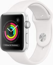 Amazon offers on Mobiles - Apple Watch Series 3 (GPS, 42mm) - Silver Aluminium Case with White Sport Band
