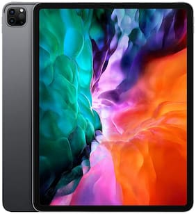 Paytmmall offers on Mobiles - Apple iPad pro (2020) 128 GB 32.766 cm (12.9 inch) Wi-Fi only Space Grey