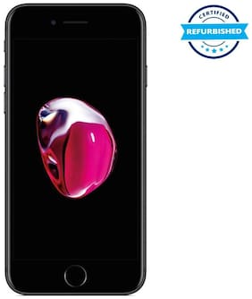 Paytmmall offers on Mobiles - Refurbished Apple iPhone 7 128GB Black (Grade: Excellent)