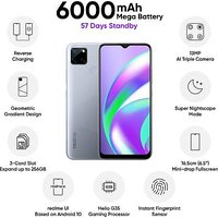 Shopclues offers on Mobiles - Realme C12 3GB RAM 32GB ROM Power Silver