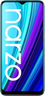 Flipkart offers on Mobiles - realme Narzo 30A (Laser Blue, 64 GB) 4 GB RAM