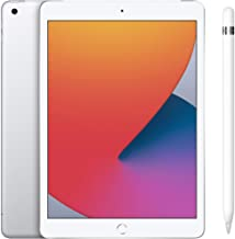 Amazon offers on Mobiles - New Apple iPad (10.2-inch, Wi-Fi + Cellular, 128GB) - Gold (Latest Model, 8th Generation)+Apple Pencil (1st Generation)