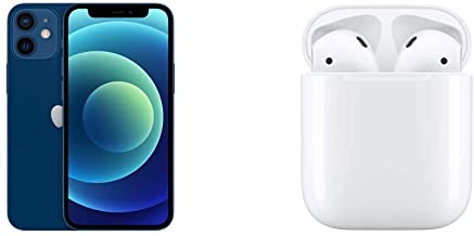 Amazon offers on Mobiles - New Apple iPhone 12 Mini (256GB) - Blue with Apple 20W USB-C Power Adapter