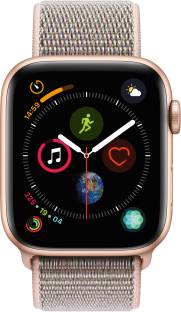 Flipkart offers on Mobiles - APPLE Watch Series 4 GPS + Cellular, 44 mm Gold Aluminium Case with Pink Sand Sport Loop Pink Strap, Regular