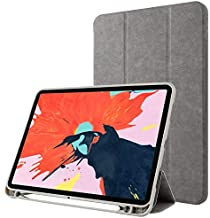 Amazon offers on Mobiles - Oaky Cover Compatible with Apple iPad Pro 10.5 inch 2017 with Pencil Holder Auto Sleep/Wake Cover Model - A1701, A1709 - Grey