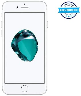 Paytmmall offers on Mobiles - Refurbished Apple iPhone 7 32GB Silver (Grade: Excellent)