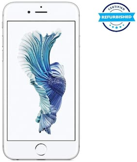 Paytmmall offers on Mobiles - Refurbished Apple Iphone 6s 2 GB 32 GB Silver (Grade: Excellent)