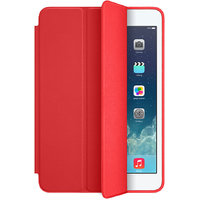 Shopclues offers on Mobiles - Leather Smart Case Red Color For Apple iPad Air 2