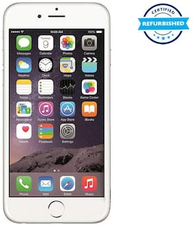 Paytmmall offers on Mobiles - Refurbished Apple iPhone 6 1 GB 16 GB Silver (Grade: Excellent)