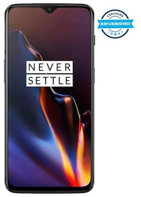 Paytmmall offers on Mobiles - Refurbished OnePlus 6T 8 GB 128 GB Midnight Black (Grade: Excellent)
