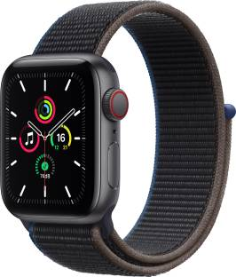 Flipkart offers on Mobiles - APPLE Watch SE GPS + Cellular 40 mm Space Grey Aluminium Case with Charcoal Sport Loop Charcoal Strap, Regular
