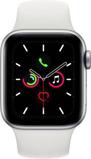 Flipkart offers on Mobiles - APPLE Watch Series 5 GPS + Cellular 40 mm Silver Aluminium Case with White Sport Band White Strap, Regular