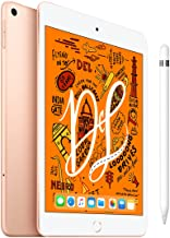 Amazon offers on Mobiles - iPad Mini 7.9 inch Wi-Fi+Cellular 256 GB Gold+Apple Pencil (1st Generation)