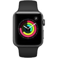 Shopclues offers on Mobiles - Apple I Watch Series 3 GPS- 42 mm Refurbished Watch