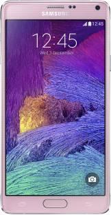 Flipkart offers on Mobiles - SAMSUNG Galaxy Note 4 (Blossom Pink, 32 GB) 3 GB RAM