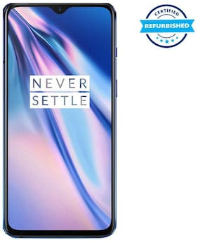 Paytmmall offers on Mobiles - Refurbished OnePlus 7 6 GB 128 GB Mirror Blue (Grade: Good)