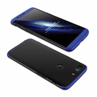 Shopclues offers on Mobiles - Mascot Max 3 in 1 Full Body Slim Fit Complete 3D 360 Degree (Front/Back) Protective for Oneplus 5T (Blue)