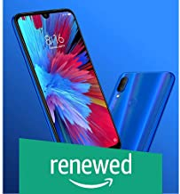Amazon offers on Mobiles - (Renewed) Xiaomi Redmi Note 7 (3GB 32GB , Sapphire Blue)