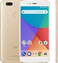 Amazon offers on Mobiles - Xiaomi Mi A1 (Gold, 64 GB)