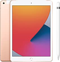 Amazon offers on Mobiles - New Apple iPad (10.2-inch, Wi-Fi + Cellular, 32GB) - Silver (Latest Model, 8th Generation)+Apple Pencil (1st Generation)